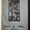 Hugo Simbergin alkuperäinen litografia