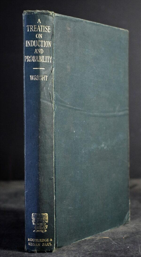 Georg Henrik von Wright A Treatise on Induction and Probability Back of the book is a bit broken