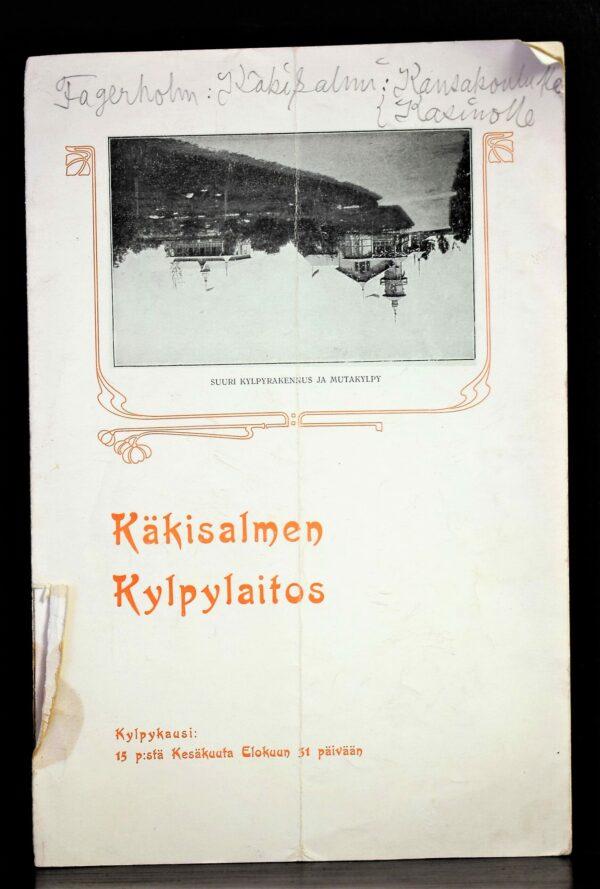 Käkisalmen Kylpylaitos 1908