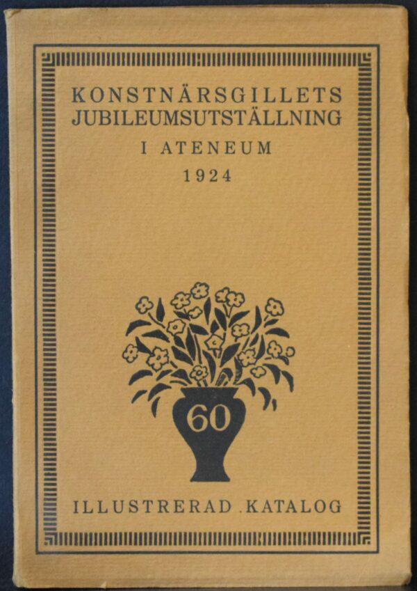 Konstnärsgillets jubileumsutställning i Ateneum 1924