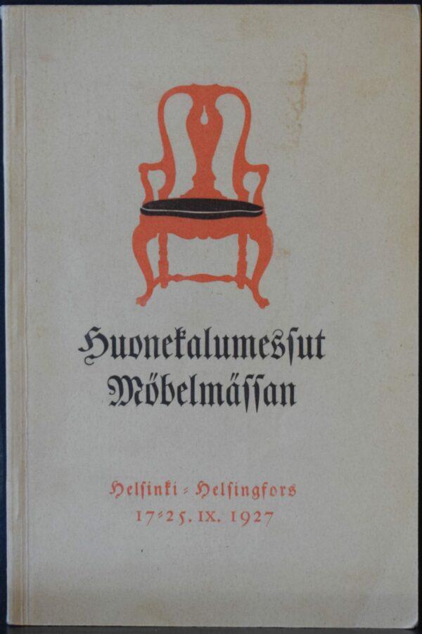 Huonekalumessut Möbelmässan 17-25.IX.1927
