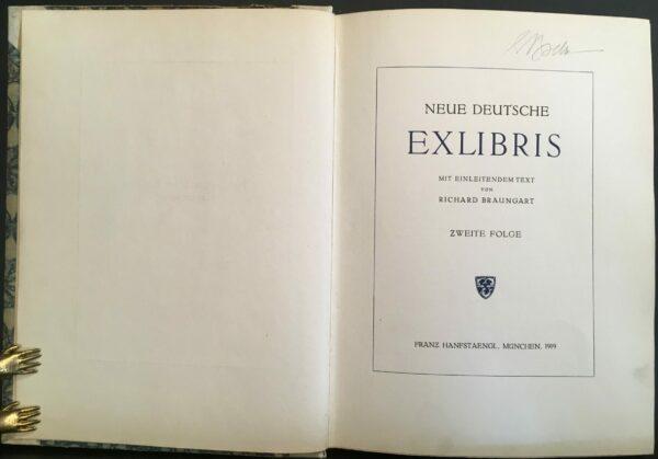 """Baungard, Richard """"Neue deutsche Exlibris"""""""