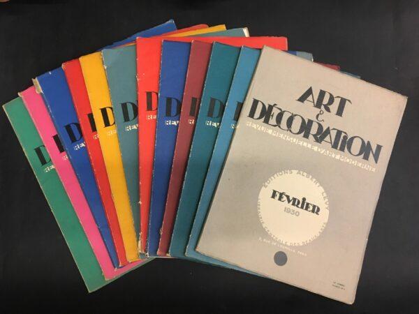 Art & Décoration : revue mensuelle d'art moderne 1929