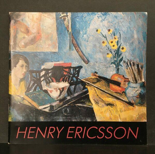 Henry Ericsson 1898-1933