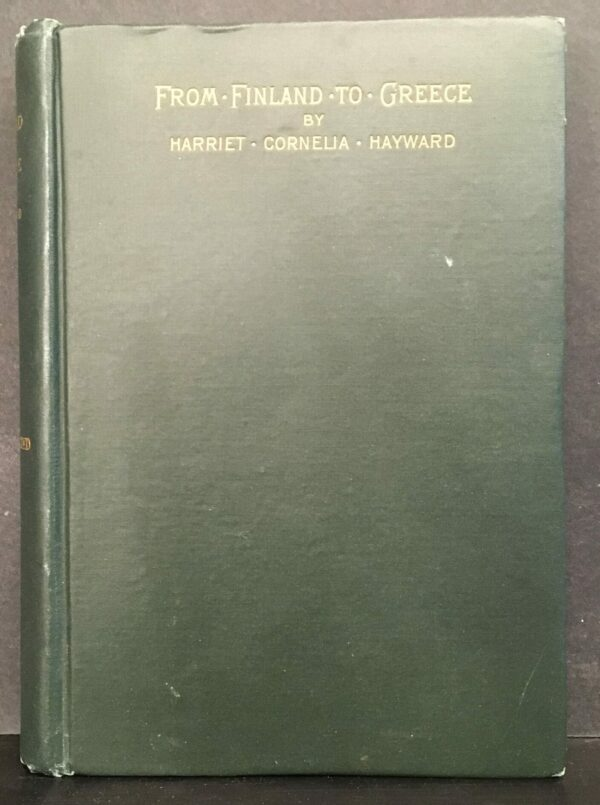 H. C. Hayward From Finland to Greece