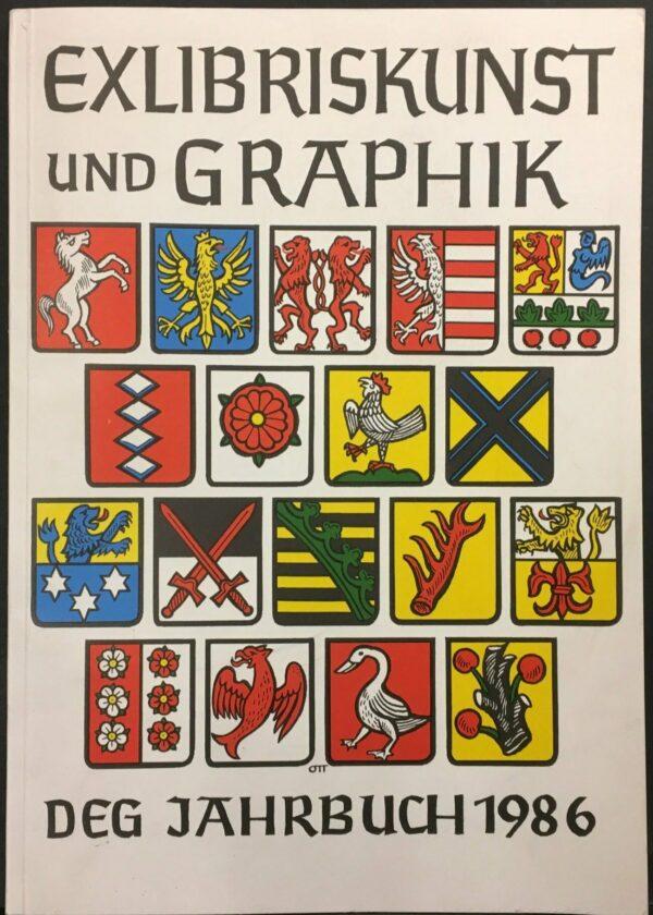 """""""Exlibriskunst und Graphik DEG Jahrbuch 1986"""""""