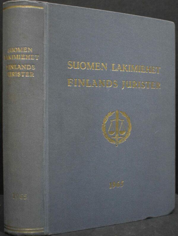 Suomen lakimiehet 1965