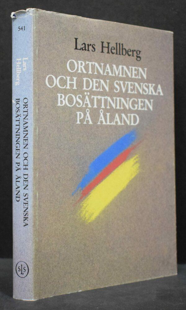 Ortnamnen och den svenska bosättningen på Åland