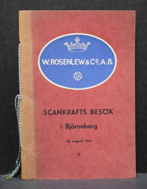 Scankrafts besök i Björneborg 25 augusti 1947