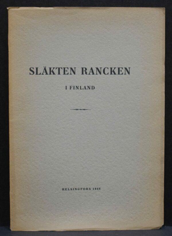 Släkten Rancken i Finland