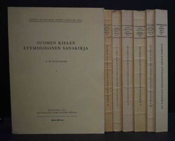 Suomen kielen etymologinen sanakirja I-VII