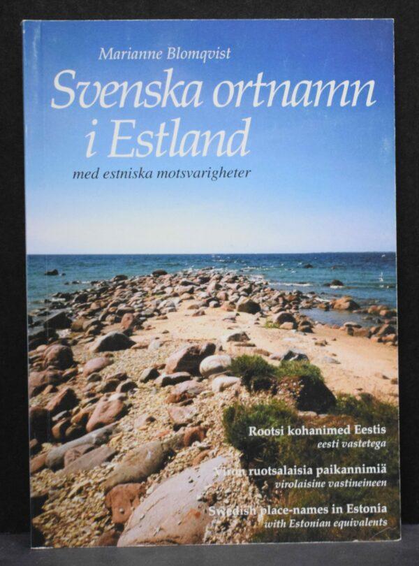 Svenska ortnamn i Estland