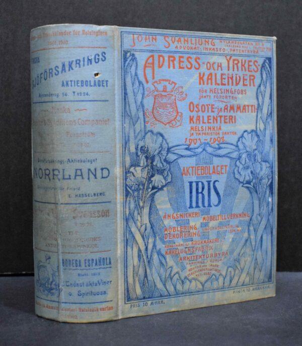 Adress- och yrkeskalender för Helsingfors 1901-1902