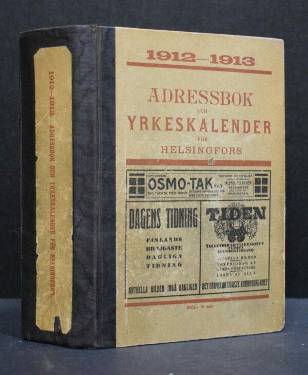 Adressbok och yrkeskalender för Helsingfors 1912-1913