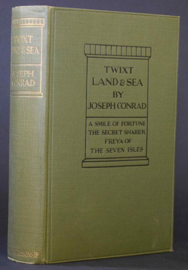Joseph Conrad 'Twixt Land & Sea Tales (1st Ed.)
