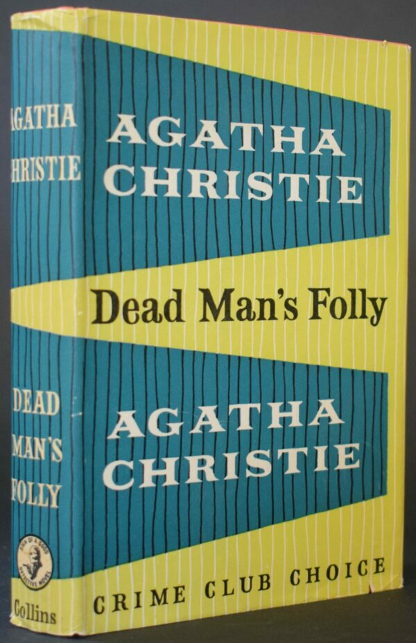 Agatha Christie Dead Man's Folly (First Edition)