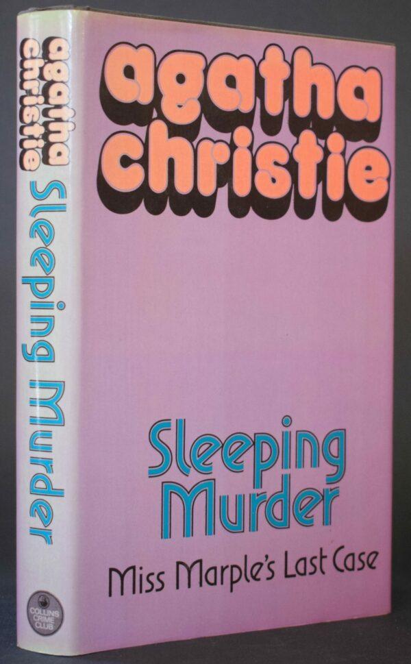 Agatha Christie Sleeping Murder 1st Ed.
