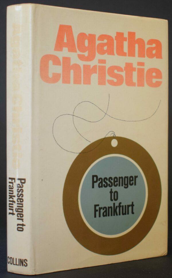 Agatha Christie Passenger to Frankfurt (1st Ed.)