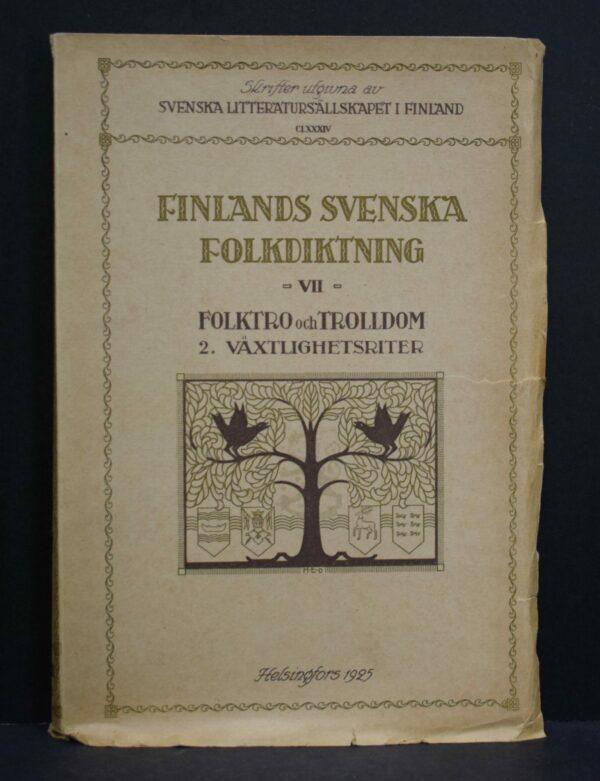 Finlands svenska folkdiktning VII