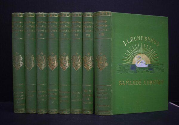 J. L. Runebergs samlade arbeten I-VIII