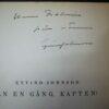 Dedication till Elmer Diktonius från Eyvind Johnson