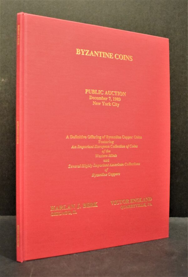 A Public and Mail Bid Auction Sale of Byzantine Coins