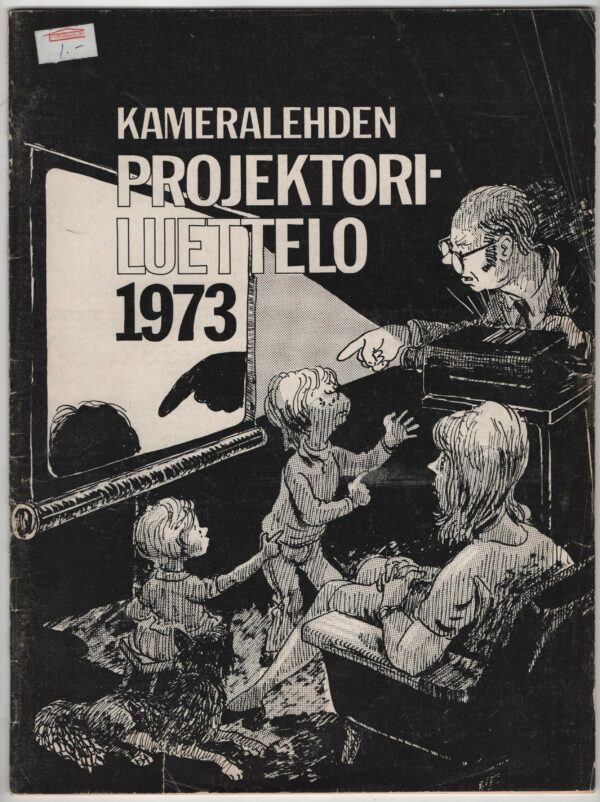 Kameralehden projektoriluettelo 1973