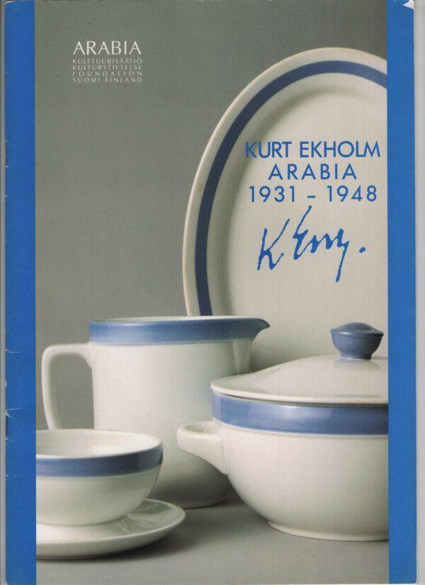 Kurt Ekholm Arabia 1931-1948